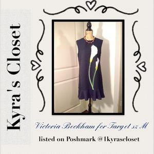 Victoria Beckham Dress sz M Calla Lilly
